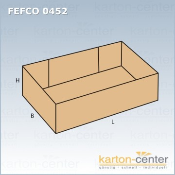 fefco 0452 karton. Black Bedroom Furniture Sets. Home Design Ideas